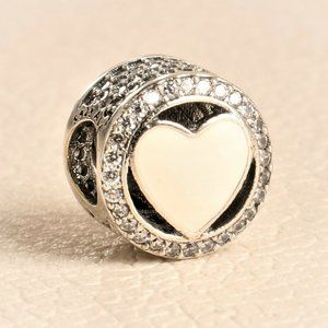 Authentic PANDORA Charm ALE Wonderful Love Soft
